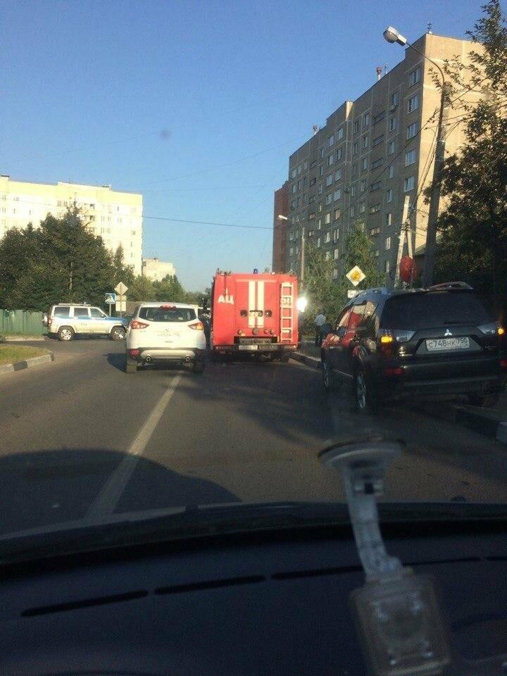 Несколько человек пострадали в ДТП с участием маршрутки в Домодедово, фото-1