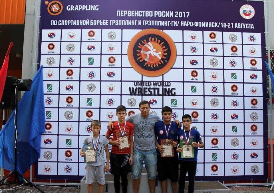 Домодедовские спортсмены завоевали золотые медали на Чемпионате России по борьбе , фото-1